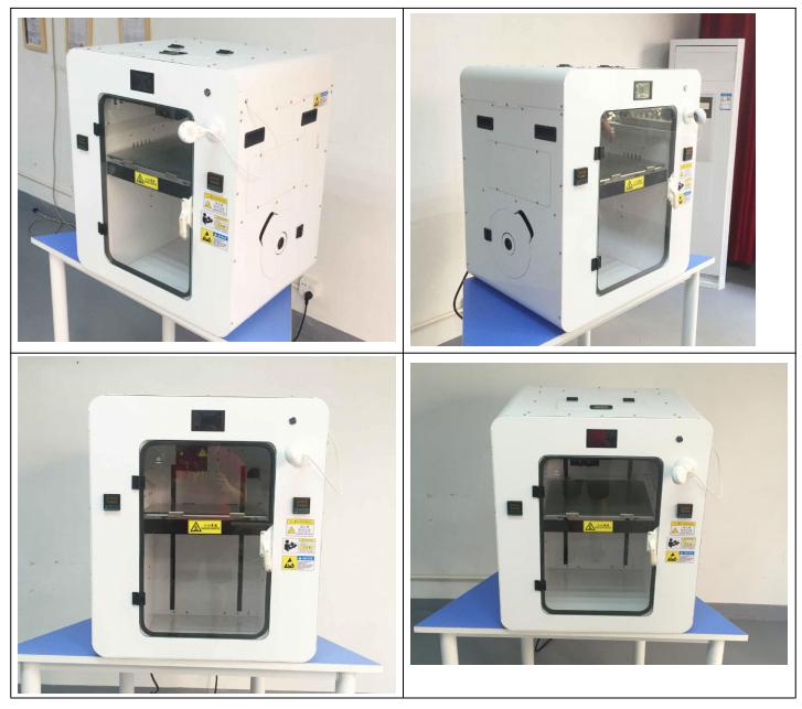 一迈高温PEEK材料3D打印机实拍图
