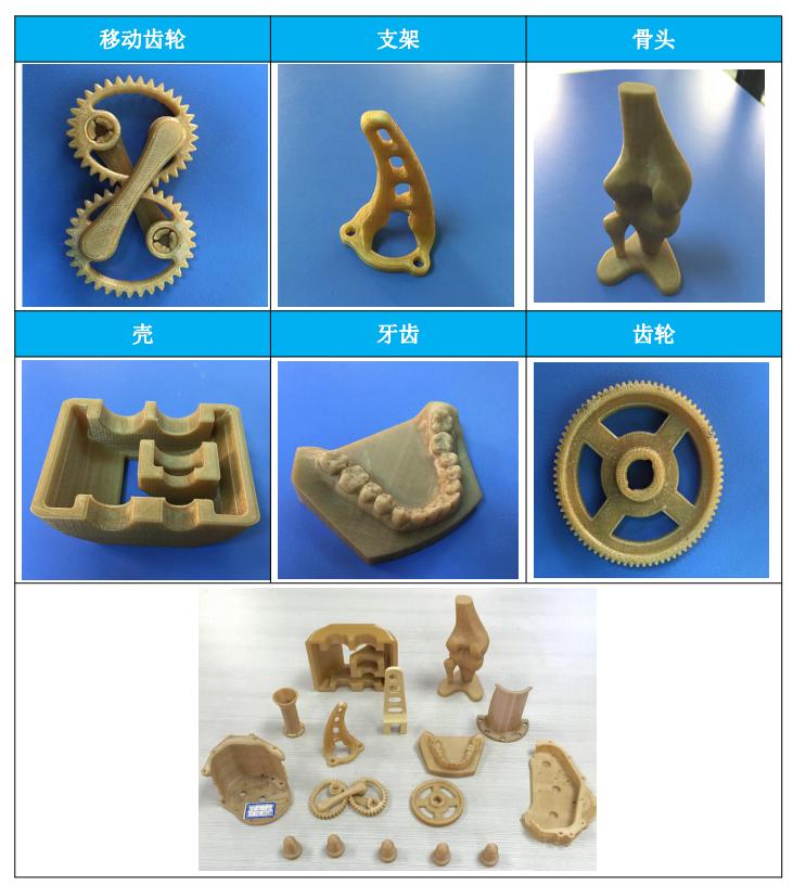 一迈3D打印PEEK材料